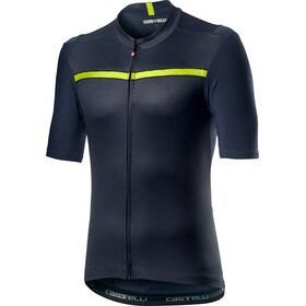 Castelli Unlimited Jersey Korte Mouwen Heren, dark steel blue